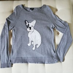 The Limited French Bulldog Top